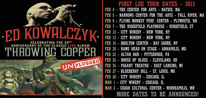 Live Throwing Copper Tour Details
